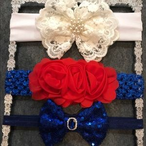 Other - July 4th Special Baby Headbands set